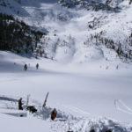 Snow profiles in Upper Yost Meadow