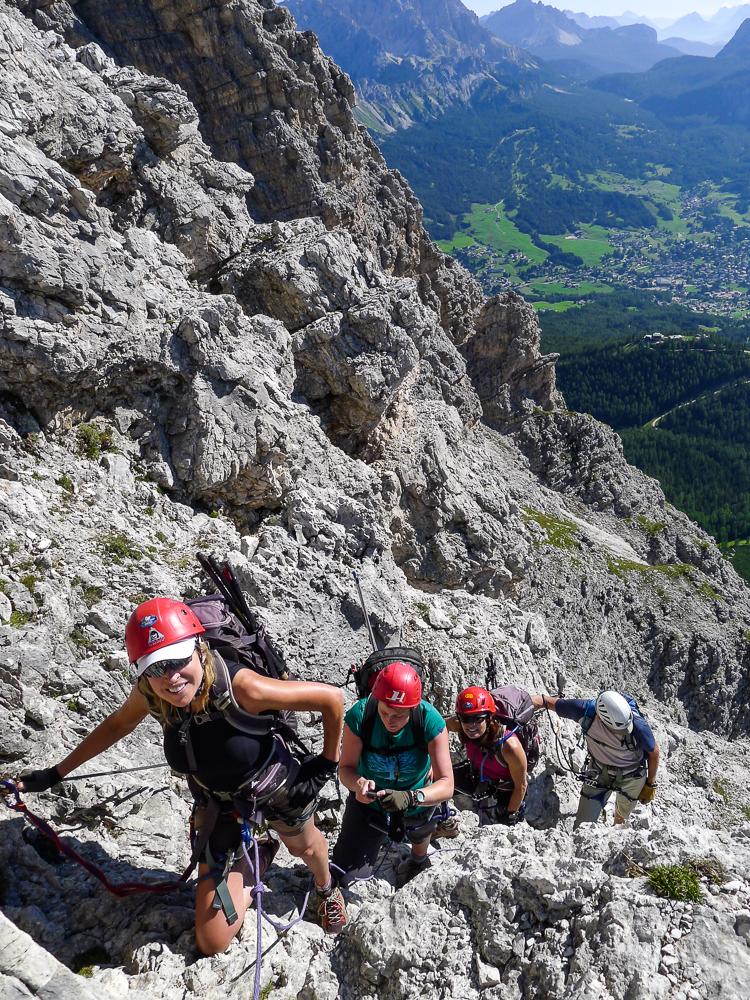 Italian Dolomites Via Ferrata Hut To Hut Sierra