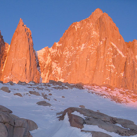 Winter on Mt. Whitney