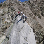 The rarely climbed true summit of Cardinal Pinnacle