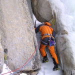 Mixed Climbing in Lee Vining Canyon