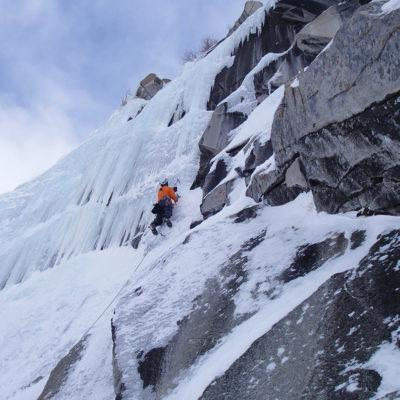 Lee Vining Ice Climbing