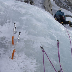 multi-pitch ice climbing