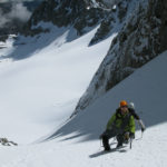 Alpine climbing in the High Sierra