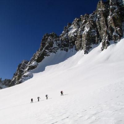 Ascent to Scimitar Pass