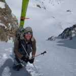 Trevor Hobbs in Red Slate Couloir