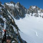 Arrival at Glacier Notch