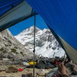 Dry camp near Southfork Pass