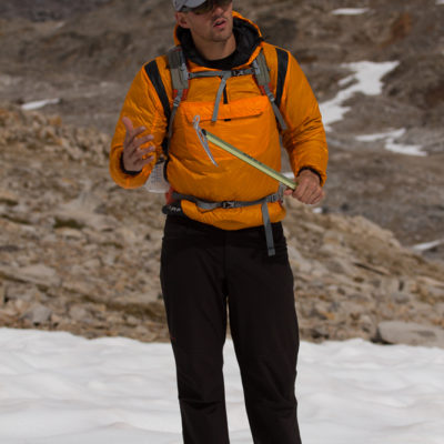 Jesse Mattner of CAMP USA talks about lightweight ice axe technology.