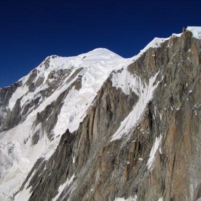 Mont Blanc, the rad Italian side.
