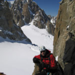 Chillaxing on the Aiguille d'Entrèves.