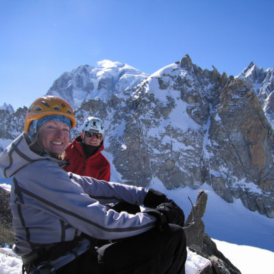 Aiguille d'Entrèves is like a Matthes Crest of the Alps, but the views are arguably nicer.