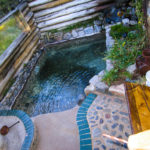 Private, natural hot springs at Muir Trail Ranch.
