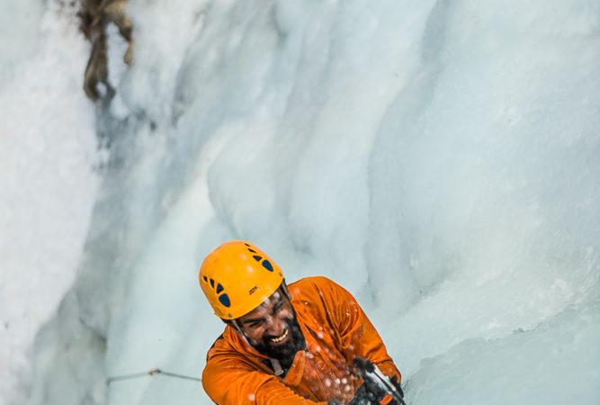 Know the ice. Love the ice. photo: Ken Etzel