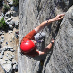 Rock training on the Sawtooths Moutnaineering Skills Camp