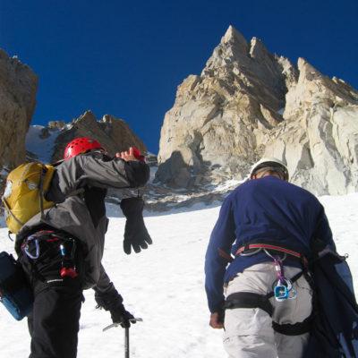 Approaching Matterhorn Peak