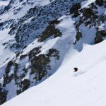 Ortler skiing. photo: Lesley Allen Photo