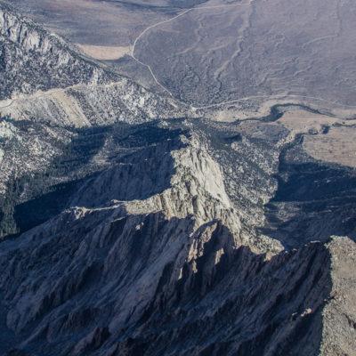 The North Ridge of Lone Pine Peak
