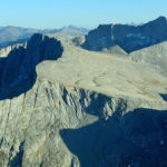 North Peak and Mt. Conness, late August 2014. photo: Ney Grant