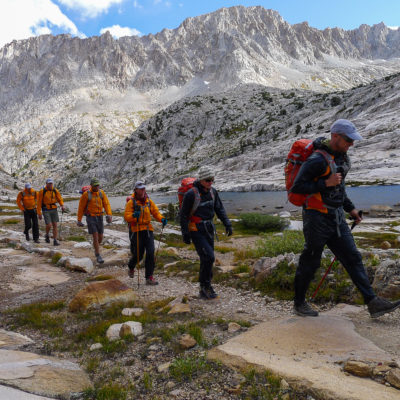 Ultralight backpacking in the Evolution Basin