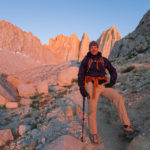 Morning light on the East Face of Mt. Whitney