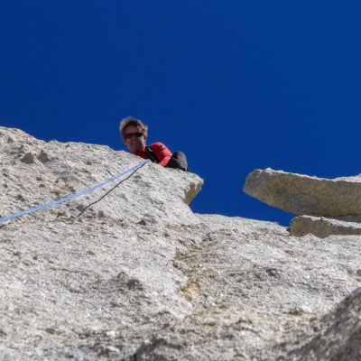 High Sierra alpine rock climbing with Peter Croft