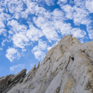 High Sierra Stone - N Buttress, Merriam Peak