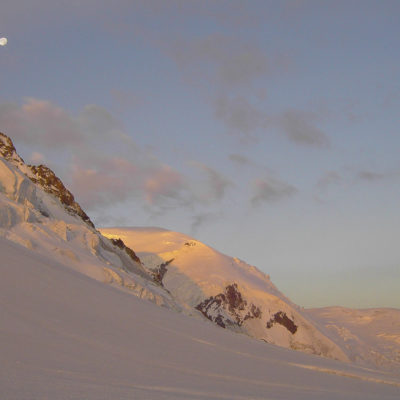 Morning on Mont Blanc