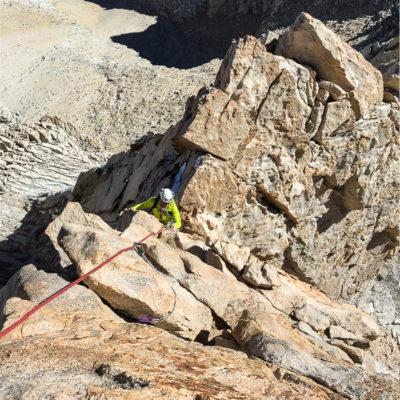 Mount Russell - SE ridge