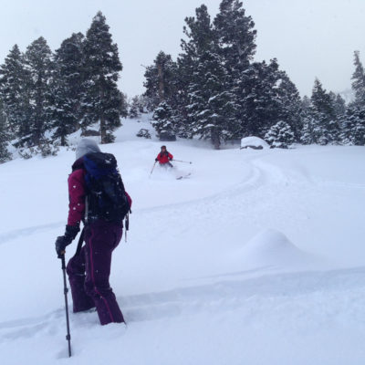 AIARE 1 refresher in the Mammoth backcountry