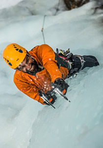 Ice Climbing and Backcountry Snow Conditions