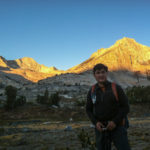Sunrise on North Peak and Mt. Conness