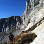 Approaching North Peak