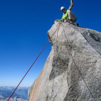 Summit of Thunderbolt Peak.