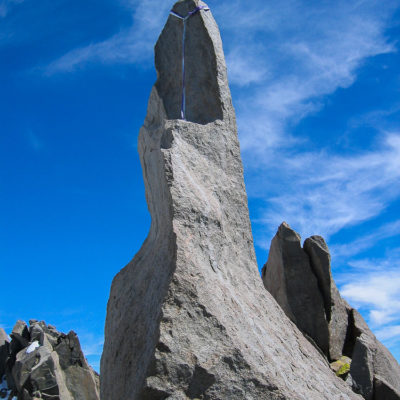 To those who claim Starlight Peak is not its own 14'er… Starlight gives you the finger. This is the true summit.