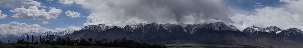 Panorama of Williamson to Split in the southern zone taken on 4/12.