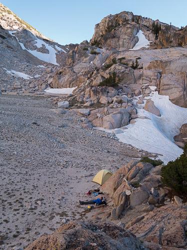 Camp setup.