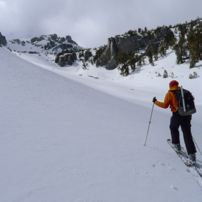 Blue Crag zone in Mammoth Lakes Basin