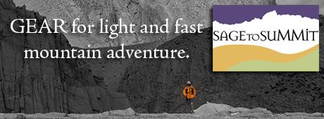 Sage to summit gear Alpine Guides Sierras