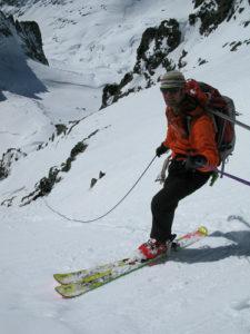 AMGA Ski Guide Training in the Ritter Range