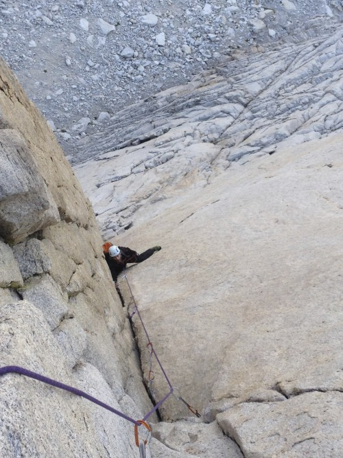John B. getting into the business on the Red Dihedral pitch