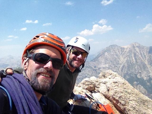 Selfie on the summit.
