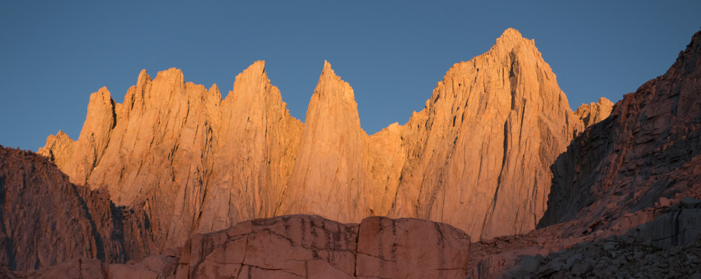 Mount Whitney sunrise.
