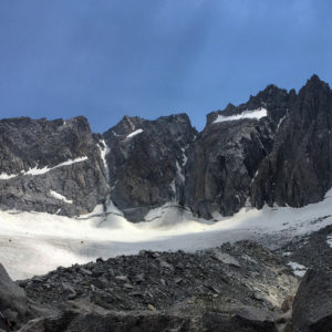 V and U Notch couloirs 7/31/16